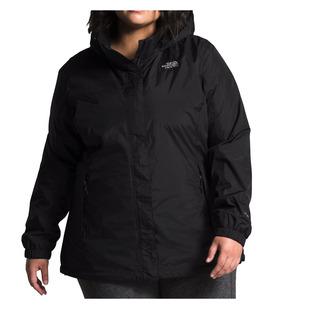 Resolve (Taille Plus) - Manteau de pluie à capuchon pour femme
