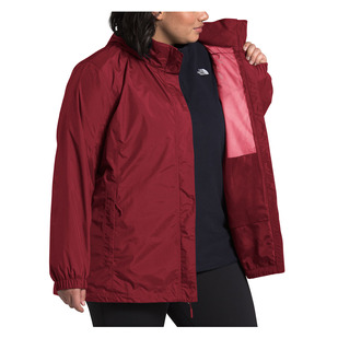 Resolve (Plus Size) - Women's Hooded Rain Jacket