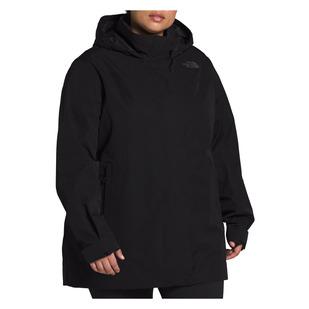 Westoak City Trench (Taille Plus) - Manteau de pluie pour femme