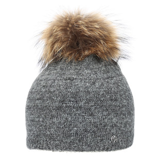 Justina - Women's Tuque with Pompom