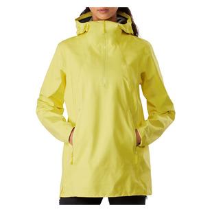 Venda - Manteau de pluie de style anorak pour femme