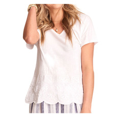 Embroidered - T-shirt pour femme