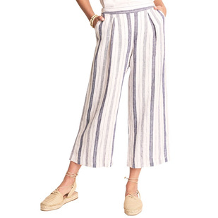 Cotton Linen Culottes - Women's Capri Pants