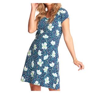 Marina - Women's Short-Sleeved Dress