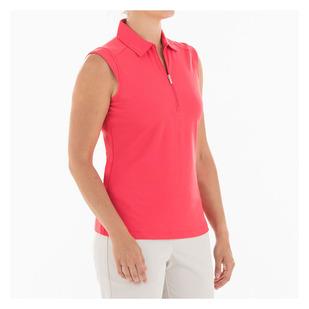 Nikki - Polo de golf sans manches pour femme
