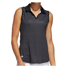 Ultimate 365 Printed - Women's Sleeveless Golf Polo