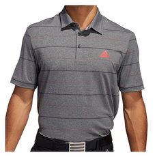 Ultimate Heather Stripe - Men's Golf Polo