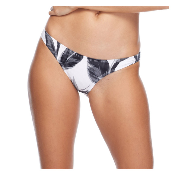 Black & White Bikini - Women's Swimsuit Bottom
