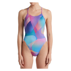 Lace Up - Women's One-Piece Training Swimsuit
