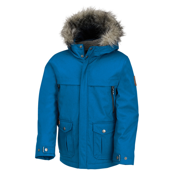 Barlow Pass 600 Turbodown Jr - Boys' Down Hooded Jacket