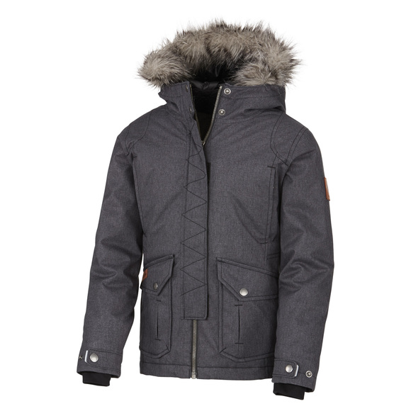 Barlow Pass 600 Turbodown Jr - Girls' Hooded Down Jacket
