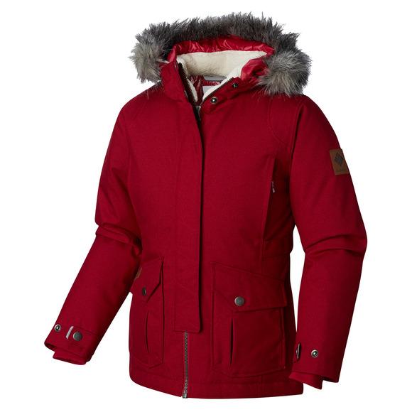 97c1da2fdd1e COLUMBIA Barlow Pass 600 Turbodown Jr - Girls  Hooded Down Jacket ...