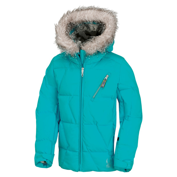 Hottie Jr - Girls' Hooded Jacket