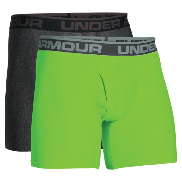 O Series - Men's Fitted Boxer Shorts (Pack of 2)