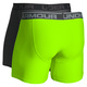 O Series - Men's Fitted Boxer Shorts (Pack of 2)   - 1