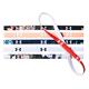 Mini Graphic - Bandeaux pour femme (paquet de 6)    - 0