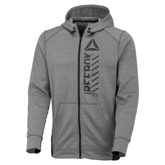 Workout Ready- Men's Full-Zip Hoodie