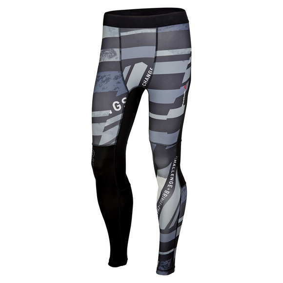 One Series Shattered Stripe - Collant de compression pour homme