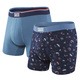 Vibe - Men's Fitted Boxer Shorts (Pack of 2)  - 0