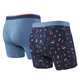 Vibe - Men's Fitted Boxer Shorts (Pack of 2)  - 1