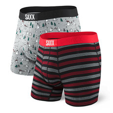 Vibe - Men's Fitted Boxer Shorts (Pack of 2)