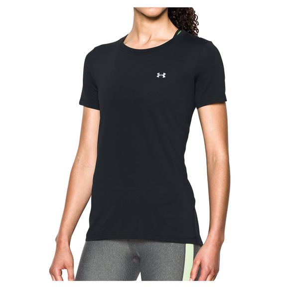 HeatGear Armour Crew - T-shirt ajusté pour femme