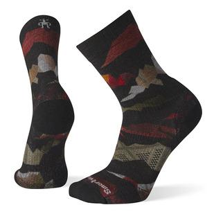 PhD® Outdoor Light Mountain Camo Print - Men's Cushioned Socks