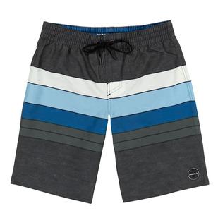 Heist Line Volley Jr - Boys' Board Shorts
