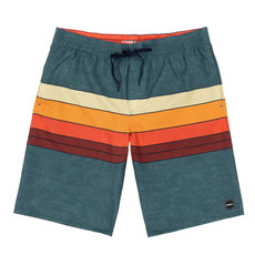 Heist Line Volley - Men's Board Shorts