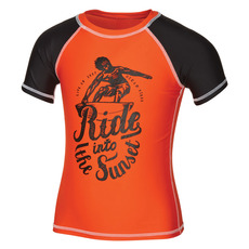 Sunset Rider Y - Boys' Rashguard