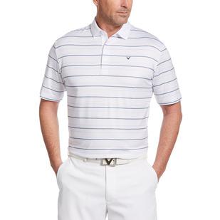 Printed Refined Stripe - Men's Golf Polo