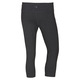 Basic - Women's Fitted Capri Pants  - 1