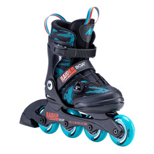 Raider BOA - Patins à roues alignées ajustables pour junior