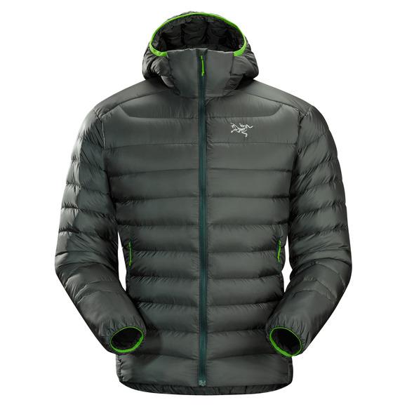 Cerium LT - Manteau à capuchon en duvet pour homme
