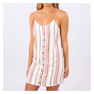 Seaport Stripe - Women's Sleeveless Dress