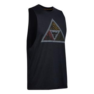 Project Rock Mana - T-shirt d'entraînement sans manches pour homme