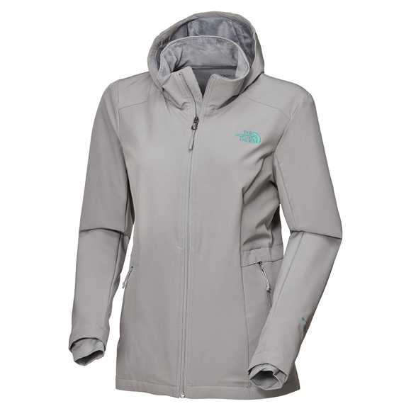 befb03398 THE NORTH FACE Shelbe Raschel - Women's Hooded Softshell Jacket