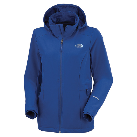 057955a87f THE NORTH FACE Shelbe Raschel - Manteau softshell à capuchon pour femme |  Sports Experts