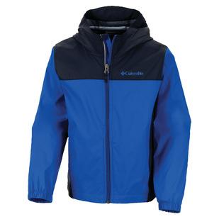 Raincreek Falls Jr - Junior Hooded Rain Jacket