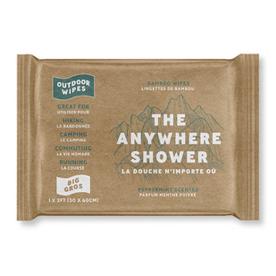 The Anywhere Shower Big - Bamboo Wet Wipe
