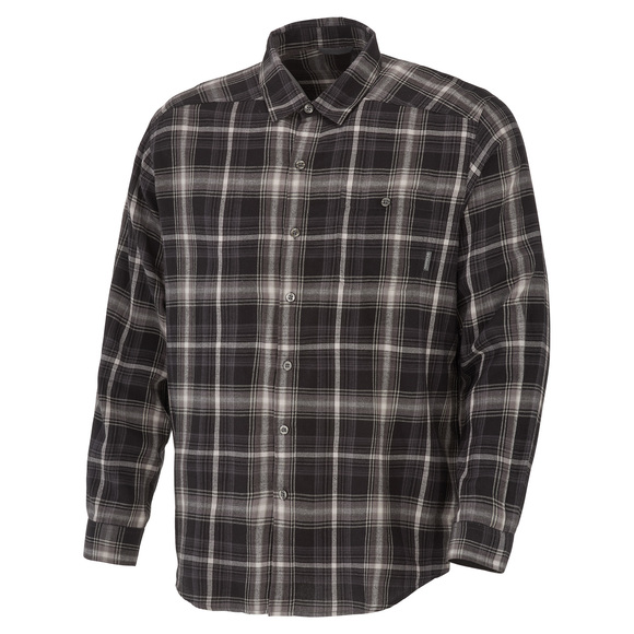 Cornell Woods Plus Size - Men's Long-Sleeved Shirt