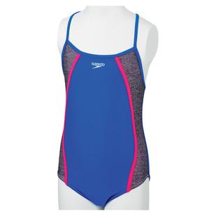 Heather Splice Jr - Girls' One-Piece Swimsuit
