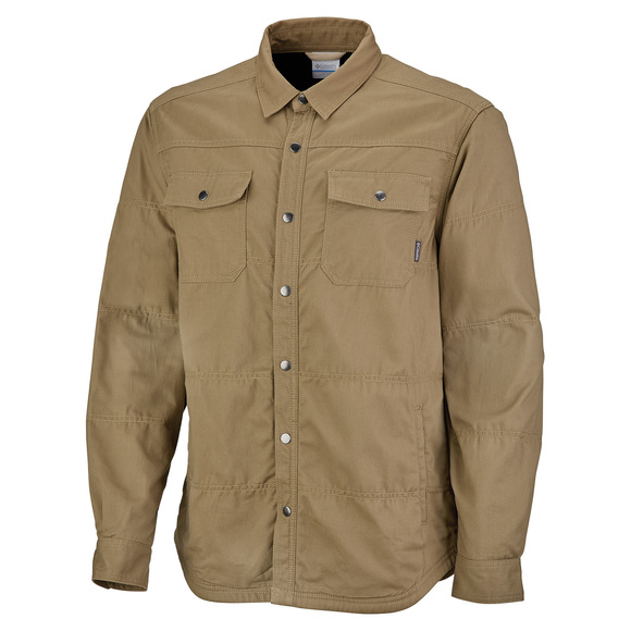 Log Vista - Men's Fleece-Lined Shirt