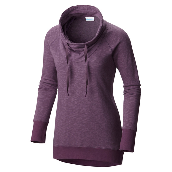 Down Time Plus Size - Women's Long-Sleeved Shirt