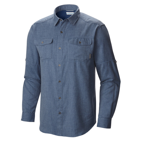 Pilsner Lodge - Men's Long-Sleeved Shirt