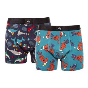Freestyle Jr (Pack of 2) - Boys' Fitted Boxer Shorts (Pack of 2)
