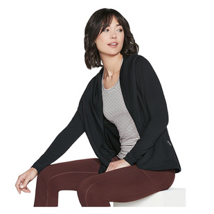 On The Go - Women's Hooded Cardigan