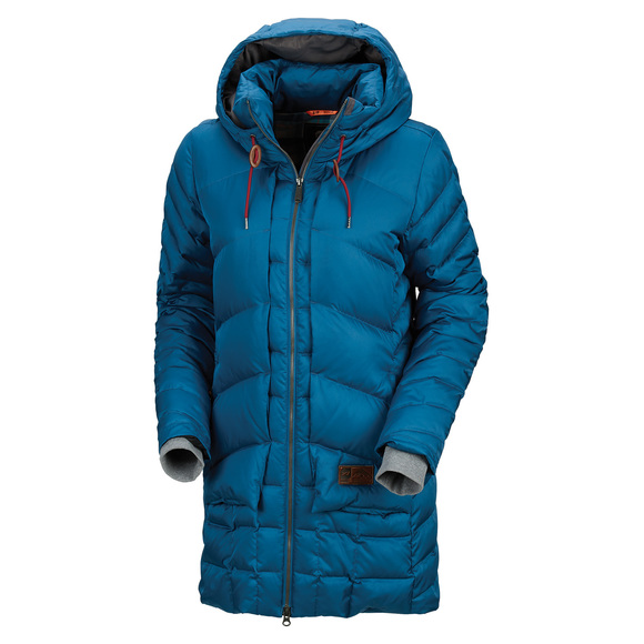 Macey - Women's Down Hooded Jacket