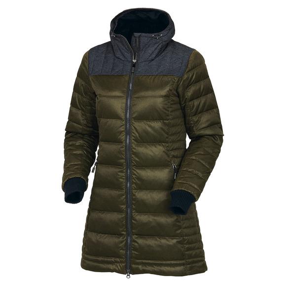 Faith - Manteau à capuchon en duvet pour femme