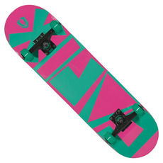 Retro Logo Double Kick - Longboard
